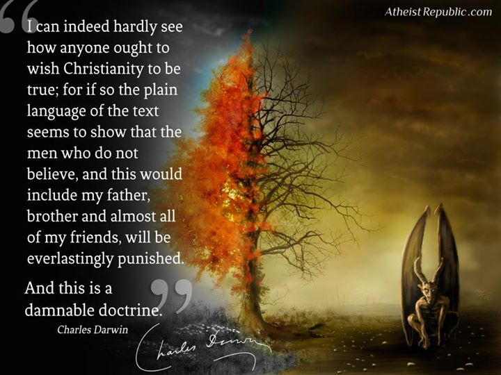 How can anyone wish Christianity to be true?