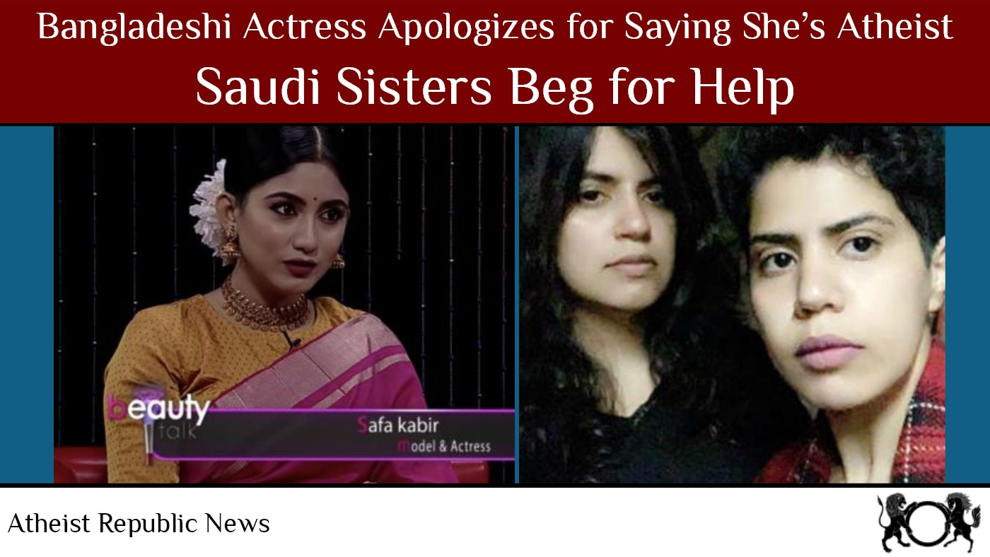 Actress Apologizes for Saying She's Atheist