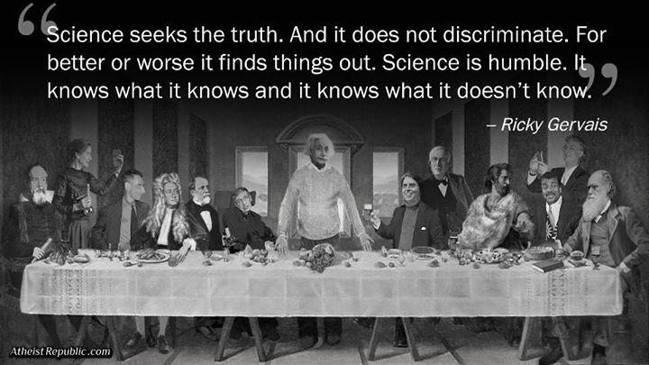 Science Does not Discriminate