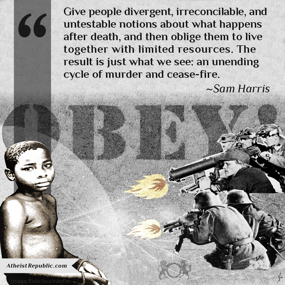 Untestable Notions - Sam Harris