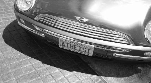 Atheist License Plate