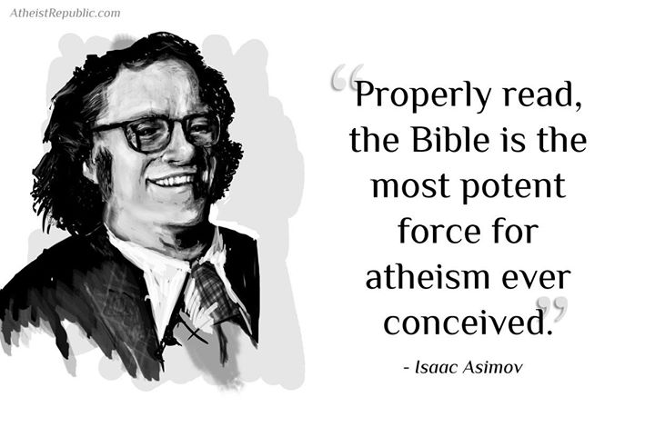 Bible Most Potent Force for Atheism
