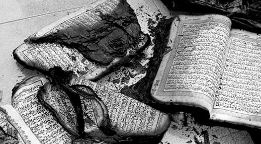 Burnt Quran