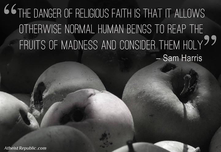 Danger of Religious Faiths
