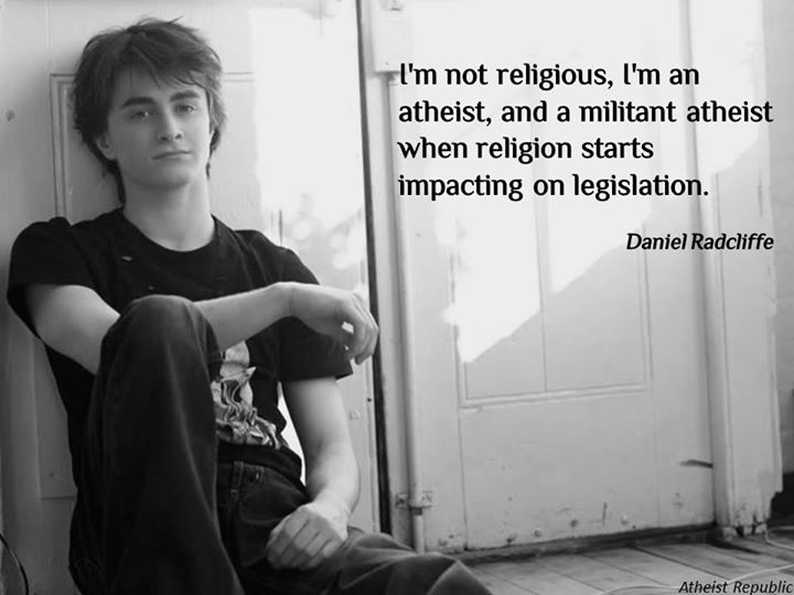Daniel Radcliffe on Being Atheist