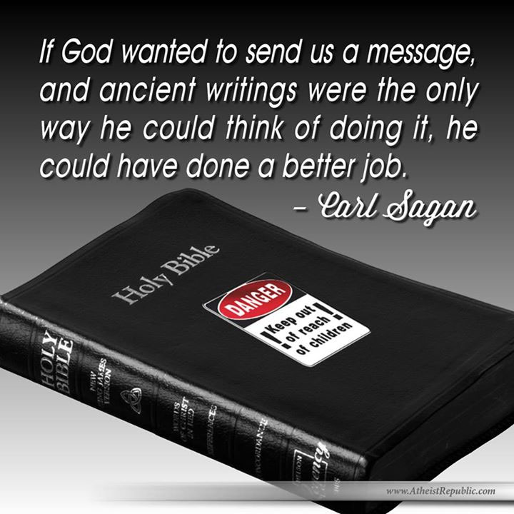God a Bad Communicator - Carl Sagan