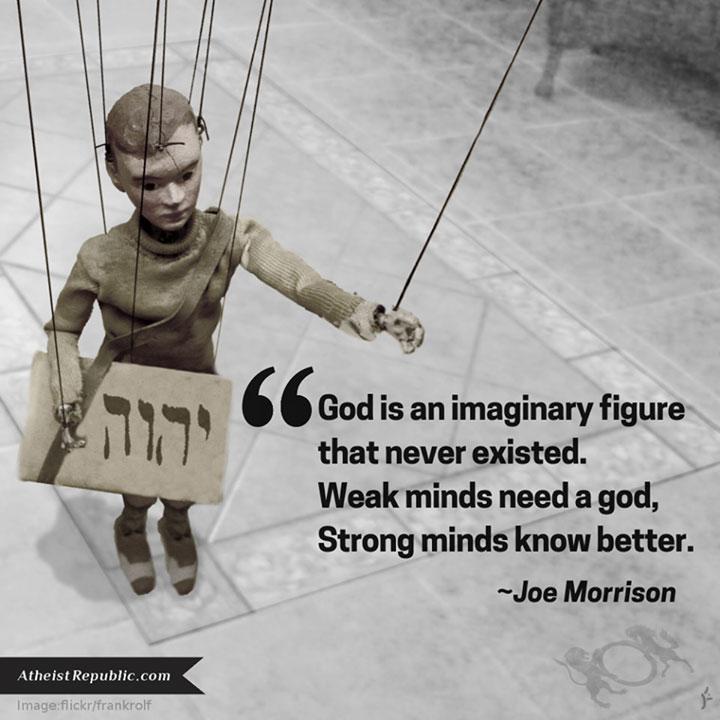 God an Imaginary Figure
