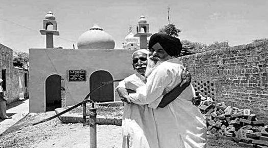 Hindu Sikh Built Mosque
