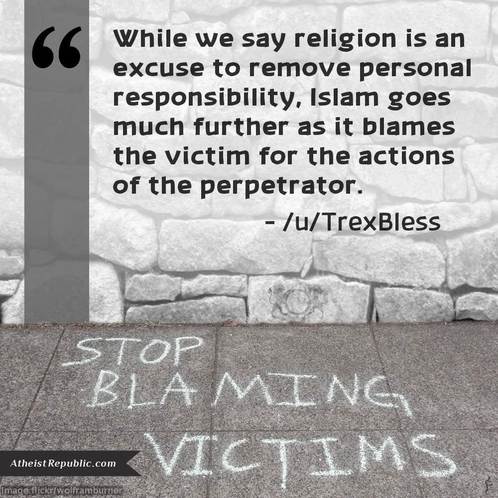 Islam Blaming Victims