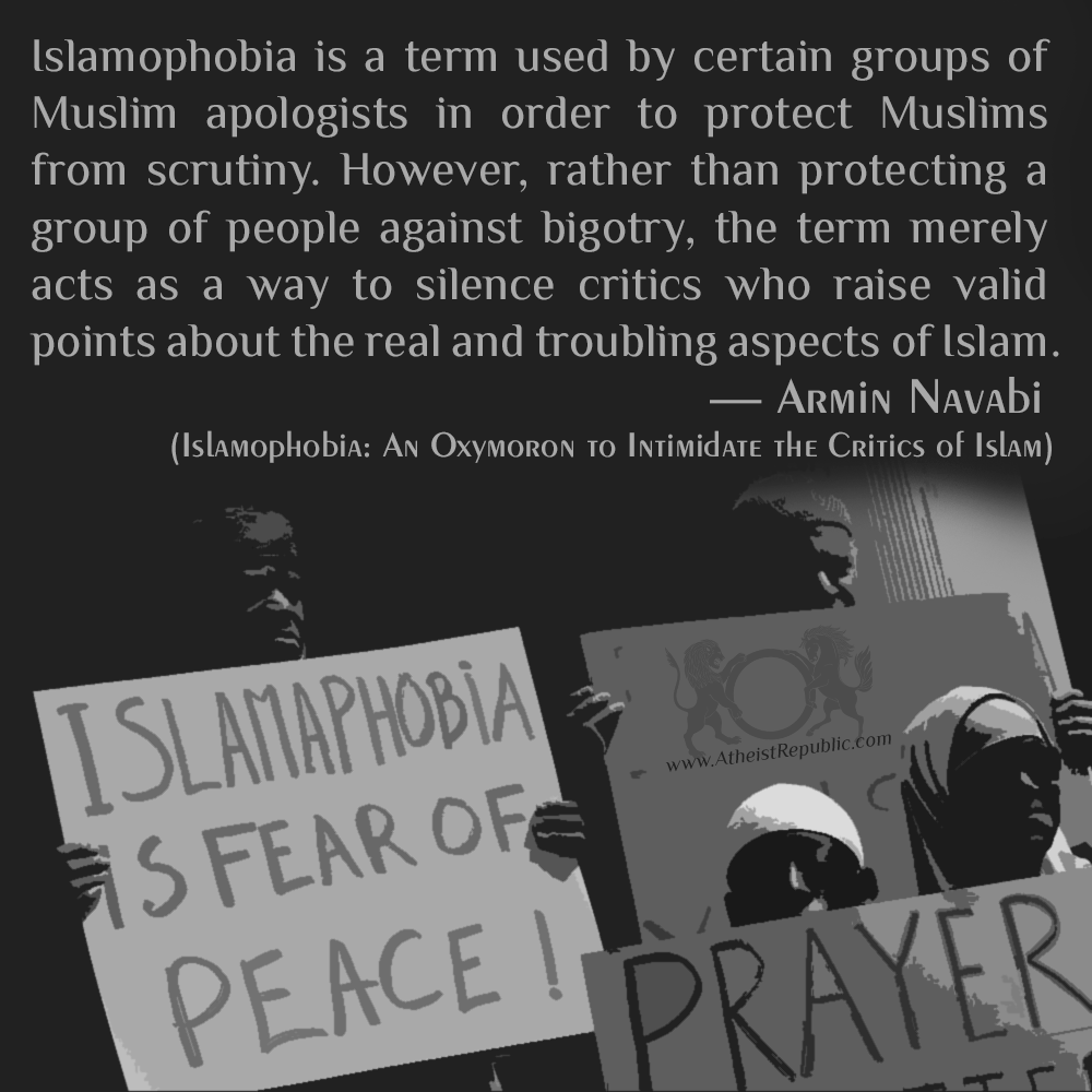 Islamophobia Is A Term Used To Protect Muslims From Scrutiny