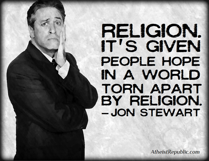 Religion Gives Hope in a World Torn Apart by Religion
