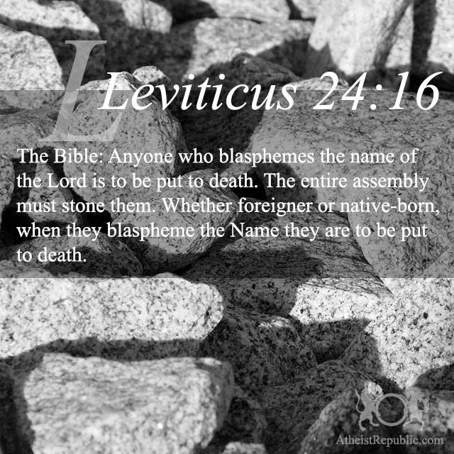 Leviticus 24:16