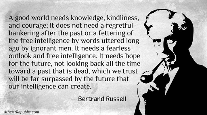bertrand russell atheist essay Bertrand russell am i an atheist or an agnostic convey the right impression to the ordinary man in the street i think i ought to say that i am an atheist.
