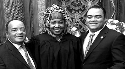 Muslim Judge Takes Oath