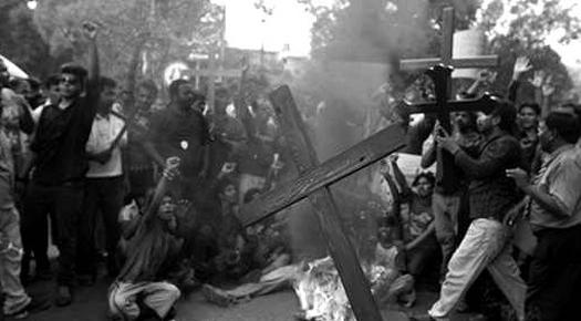 Pakistan Christian Family Burned