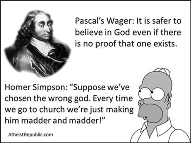 blaise pascal and the question of believing in god