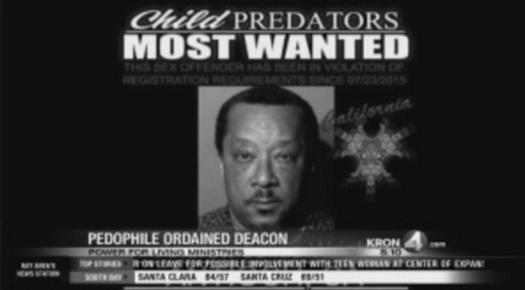 Pedophile Deacon