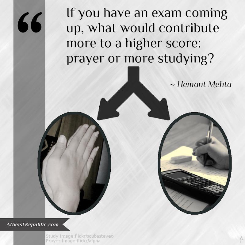 Prayer or more Studying - Mehta