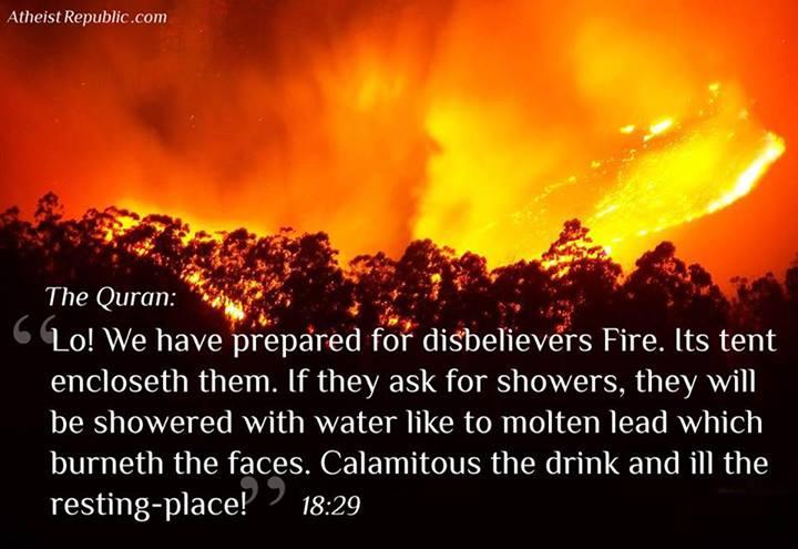 Quran Disbelievers Fire