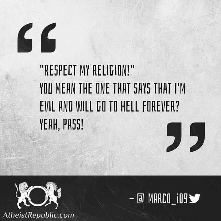 Respect my Religion