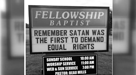 Satan Equal Rights