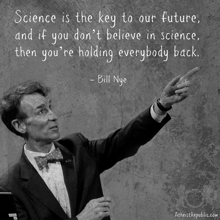 Science is the Key to the Future