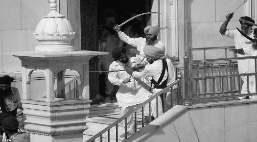 Sikh Fight