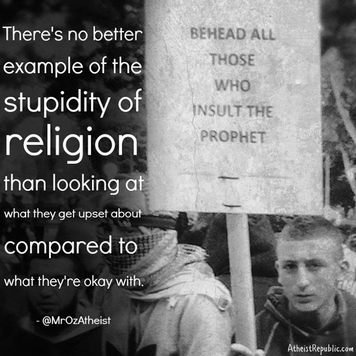 Stupidity of Religion