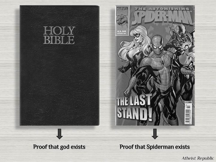 The Bible and Spiderman