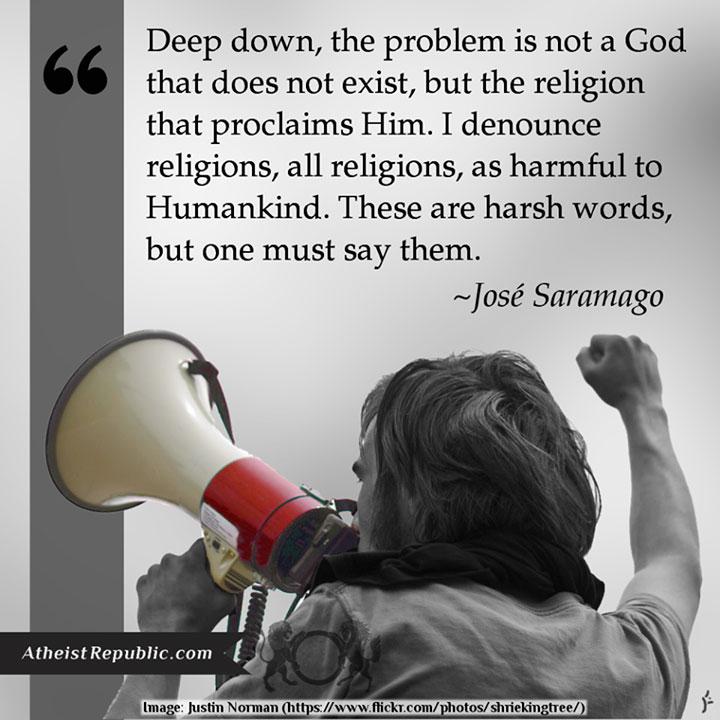 The Problem is not God - Jose Saramago
