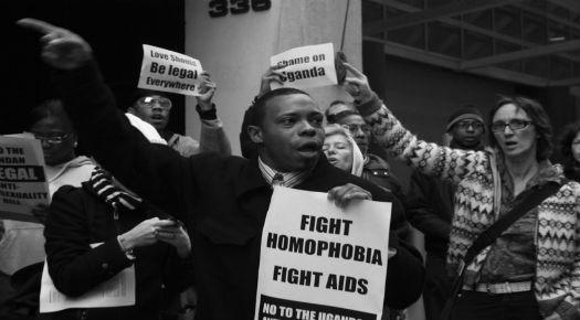 Uganda Protest LGBT
