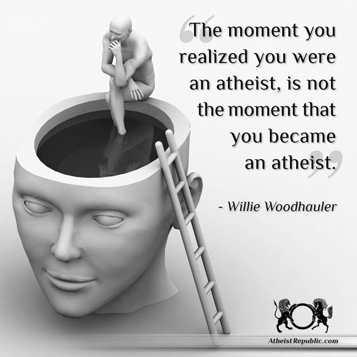 When Did You Realize You Were Atheist