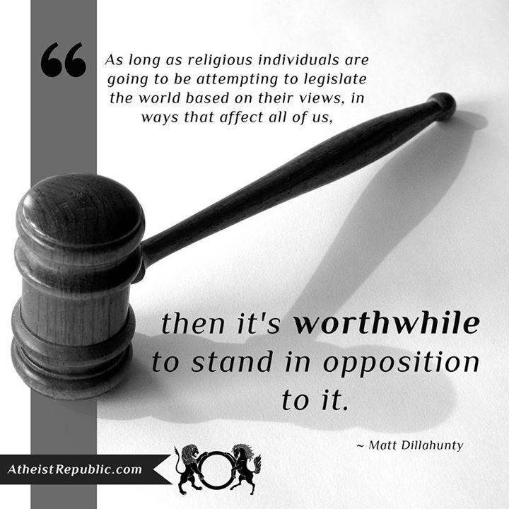 Worthwhile to Oppose Religion - Matt Dillahunty