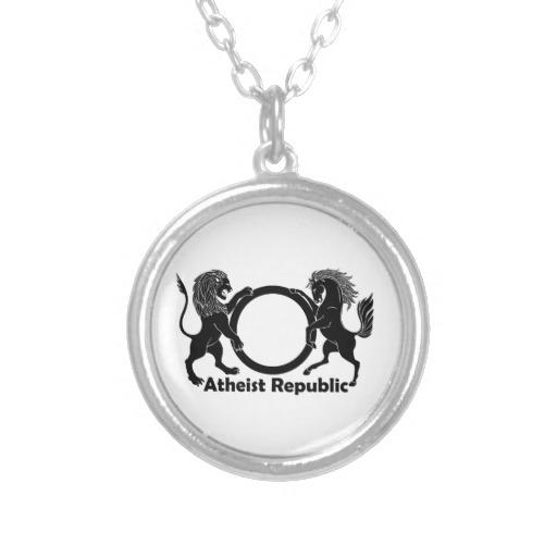 Atheist necklaces atheist shopping aloadofball Choice Image