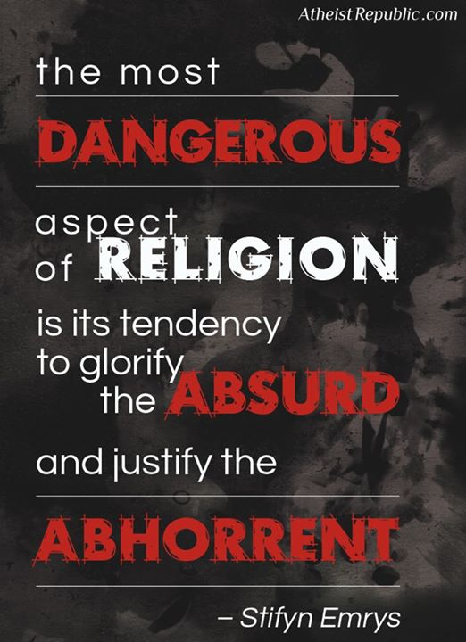 Dangerous Aspect of Religion
