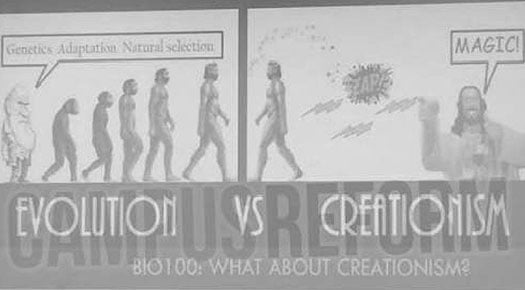 Evolution VS Creationism
