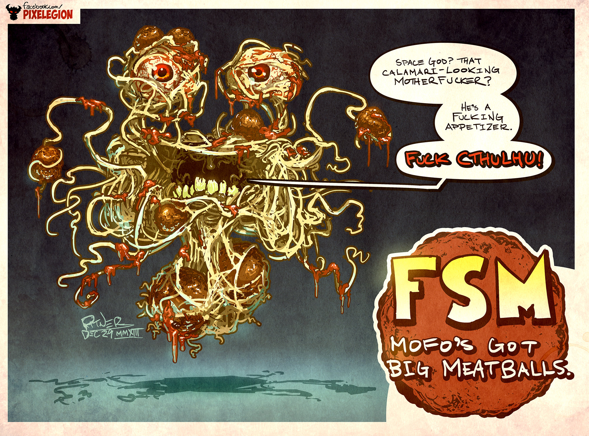 FSM Got Big Meatballs