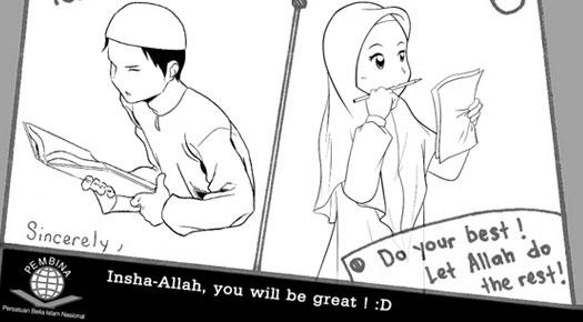 Let Allah do the rest