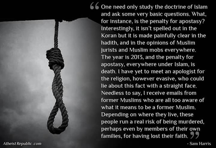 sam harris islam essay