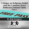 ritique on Religious Belief