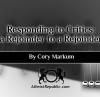 Responding to Critics