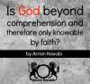 Is God Beyond Comprehension