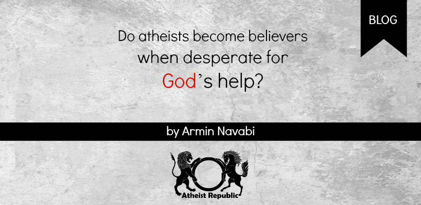 Believers Desperate for God's Help