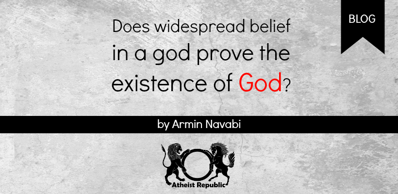 Does Widespread Belief Prove God's Existence?