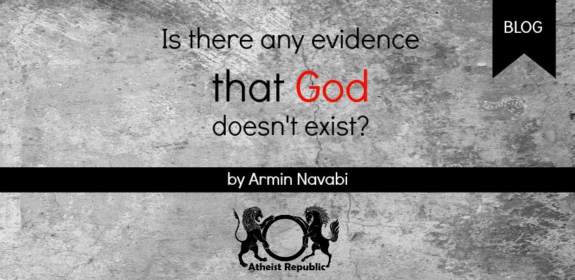 Evidence God Doesnt Exist