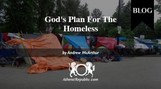God's Plan For The Homeless