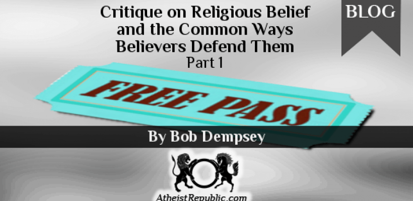 ritique on Religious Belief