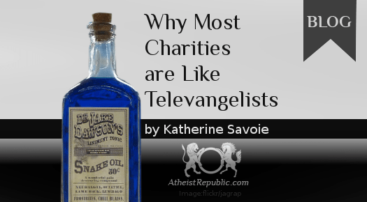 Why Most Charities are Like Televangelists