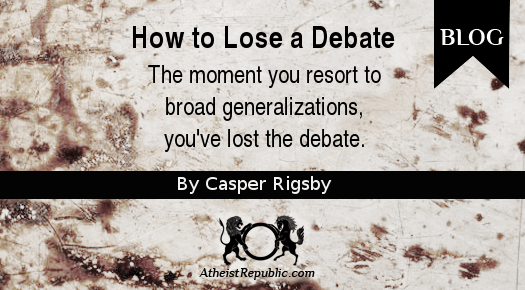 How to Lose a Debate