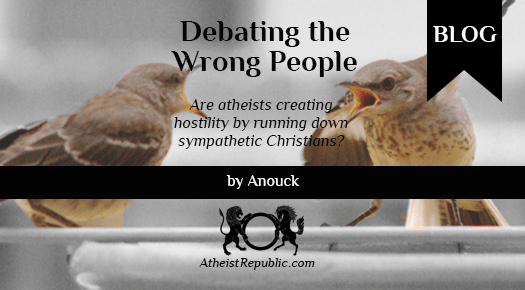 Debating the Wrong People